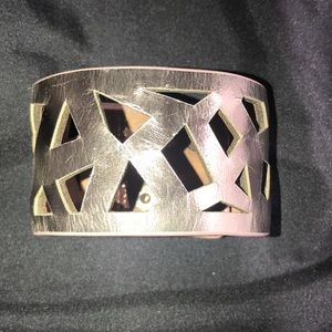 Vince Camuto Leather Cuff Rose Gold ❤️